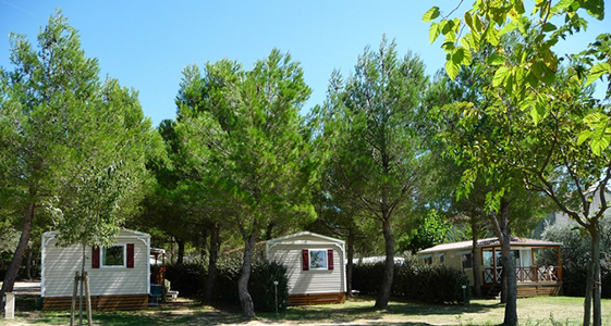 mobile home camping fontisson vaucluse